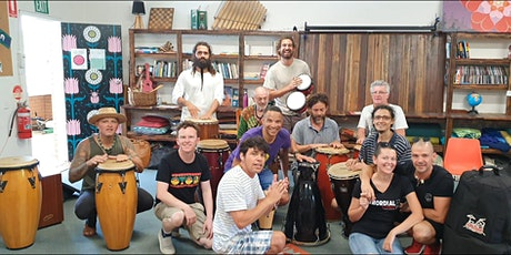 Drumming For Life percussion workshop... all ages welcome! tickets