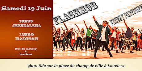 Danse et Flashmob Louviers billets