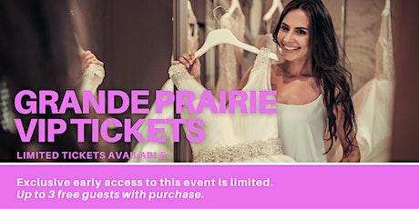 Grande Prairie Pop Up Wedding Dress Sale VIP Early Access tickets