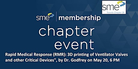Rapid Medical Response :3D Printing of Ventilator Valves & Critical Devices tickets
