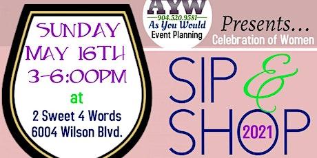 Celebration of Women Sip & Shop tickets