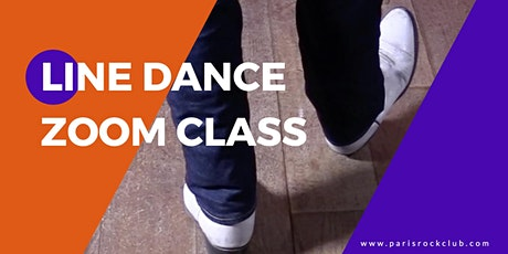 line dance-general level (zoom class) tickets