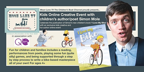 'I Love My Bike' Kids Online Event with Author/Poet Simon Mole (ages 4+) tickets