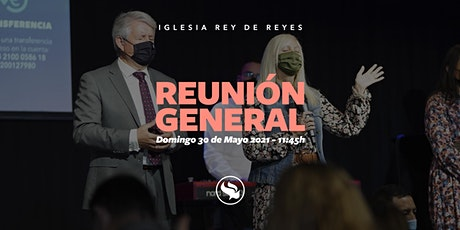 Reunión general - 30/05/21 - 11:45h tickets