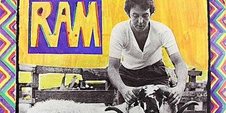 Paul McCartney's RAM performed livestream @ Fulton Street Collective tickets