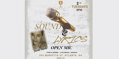 Sound & Lyrics Open Mic tickets