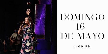 Servicio Domingo 16 de Mayo tickets