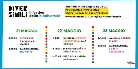 DIVERSIMILI - il festival della biodiversità biglietti