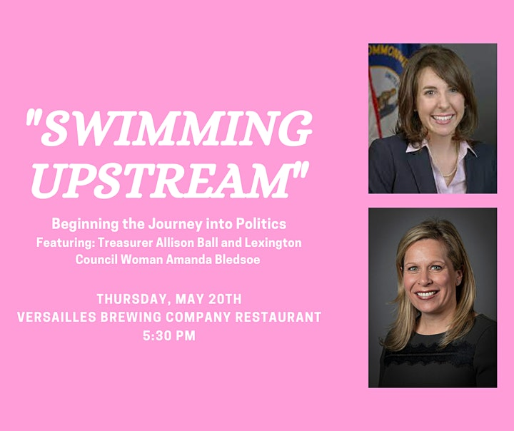 """Swimming Upstream"" Beginning the Journey into Politics image"