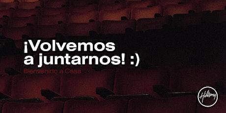 Hillsong Madrid  Sala 3 (12:30 HRS) - 16/05/2021 entradas