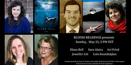 Bloom  Readings Presents An Evening of Poetry & Prose tickets