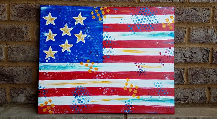 Abstract Flag Paint & Pints image