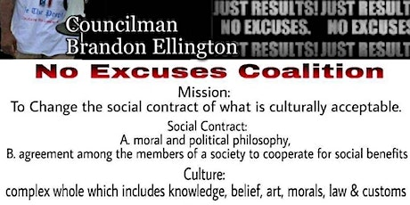 No More Excuses Neighborhood Coalition Meeting tickets