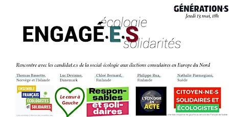 Débat élections consulaires: Engagé.e.s, la sociale-écologie en action. billets