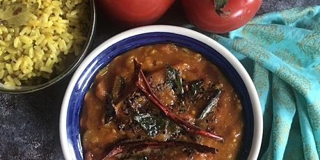 Platewell Vegan Cooking Class l Tomato Curry with Lemon Rice tickets