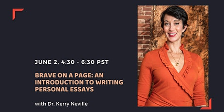 Brave on a Page: An Introduction to Writing Personal Essays tickets
