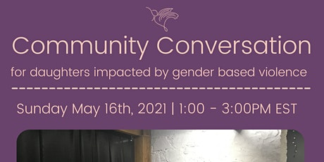 Community Conversations: Gender Based Violence tickets