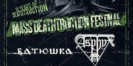 Mass Deathtruction Festival 2021 billets