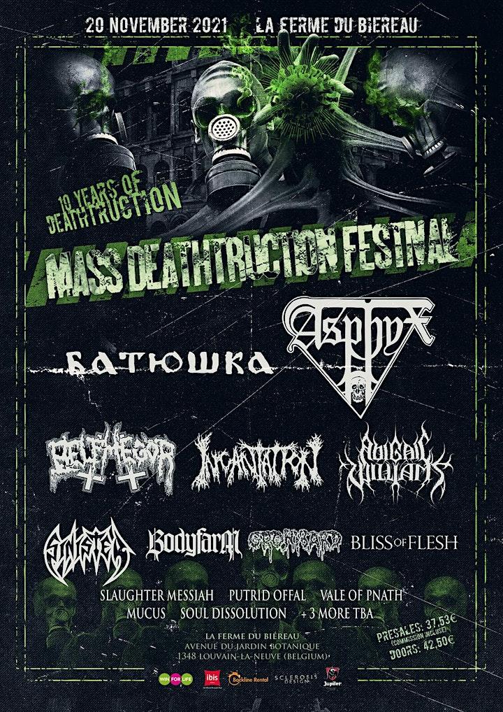 Image pour Mass Deathtruction Festival 2021