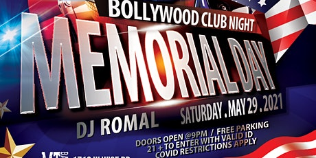 Memorial Day Bollywood Party tickets