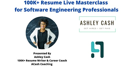 $100K+ Resume Live Masterclass for  Software Engineering Professionals tickets