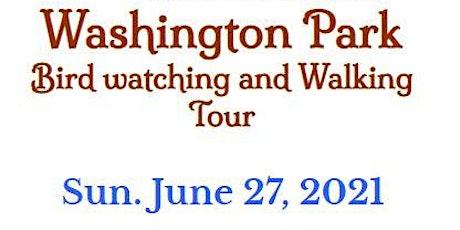 Washington Park Bird Watching and Tour - Sun. June 27, 2021 tickets