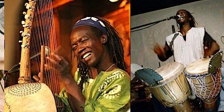 Epizo Bangoura African Live Event (kora, balafon, drums, dance!) tickets