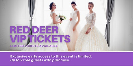Red Deer Pop Up Wedding Dress Sale VIP Early Access tickets