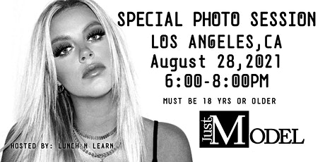 Just Model: Special Photo Session-Los Angeles, CA tickets