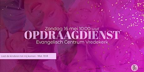 Zondagdienst 16 mei 10.00 uur met Willem Oostra (opdraagdienst) tickets