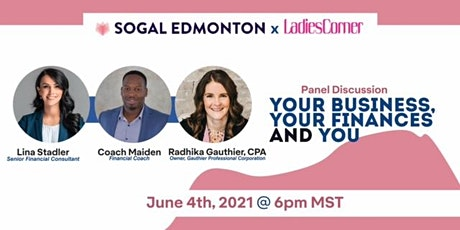SoGal Edmonton: Your Business, Your Finances & You tickets
