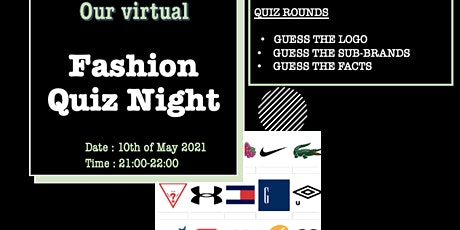 ⭐ Fashion Quiz Night ⭐ tickets
