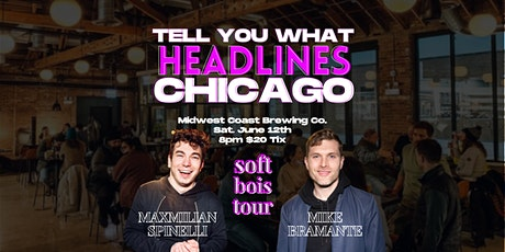Tell You What Comedy @ Midwest Coast Brewing Co. tickets