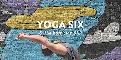 Outdoor Yoga w/ Yoga Six & The East Side BID tickets