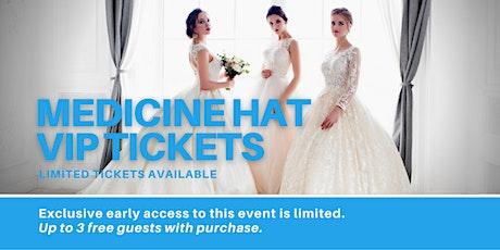 Medicine Hat Pop Up Wedding Dress Sale VIP Early Access tickets