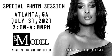 Just Model: Special Photo Session - Atlanta, GA tickets