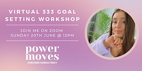 333 Goal Setting Workshop tickets