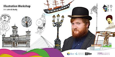 Illustration Workshop with John D. Ruddy tickets