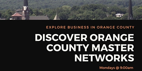 Discover Orange County Virtual Business Networking Chapter Mondays 9AM tickets