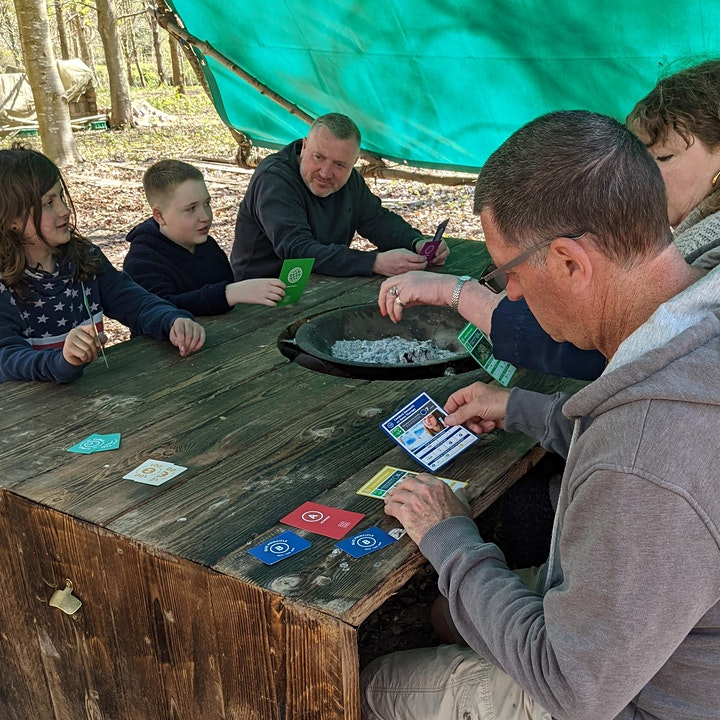 Sustainability Sunday - come and play the #SDG game in the woods image