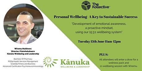 Personal  Wellbeing- A Key to  Sustainable Success tickets