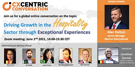 Driving Growth in the Hospitality Sector through Exceptional Experiences tickets