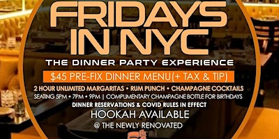 %22Fridays+in+New+York%22+The+Dinner+Party+Experi
