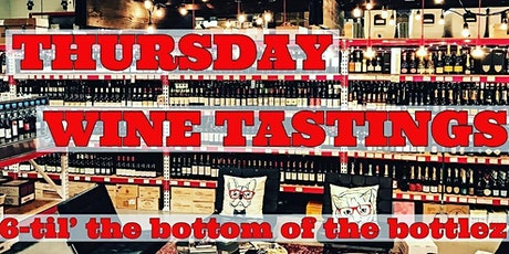Free Thursday Wine Tasting tickets