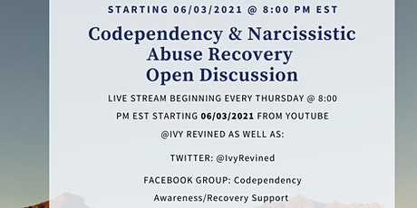 Codependency & Narcissistic Abuse Recovery Discussion - Open Mic tickets