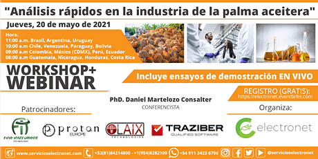 Análisis rápidos en la industria de la palma aceitera entradas