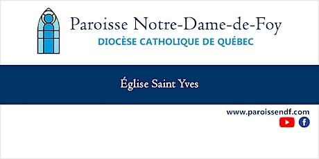 Messe Église St-Yves - Mercredi - 12 h 00 billets