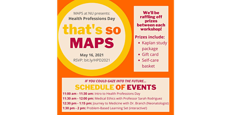 MAPS Health Professions Day tickets