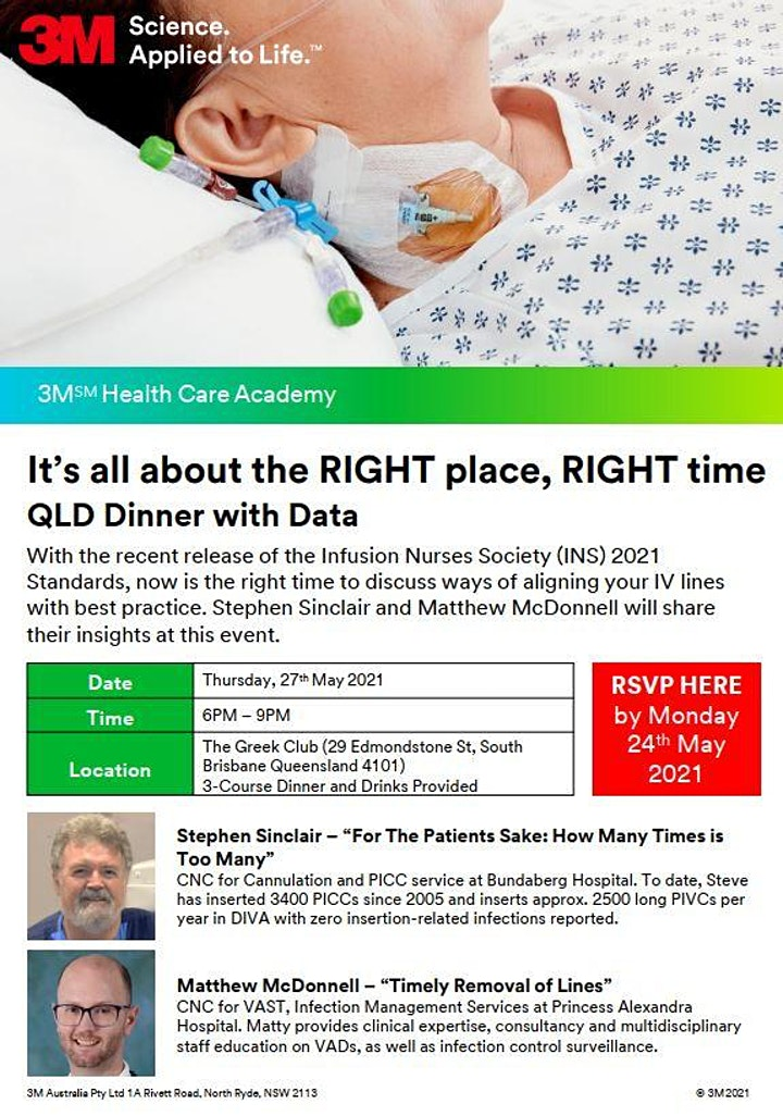 It's all about the RIGHT place, RIGHT time - QLD Dinner with Data image
