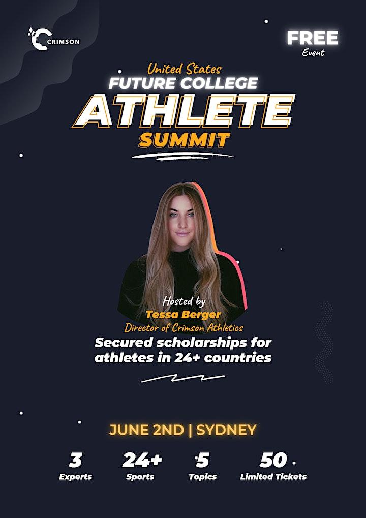 Future College Athlete Summit - Sydney image